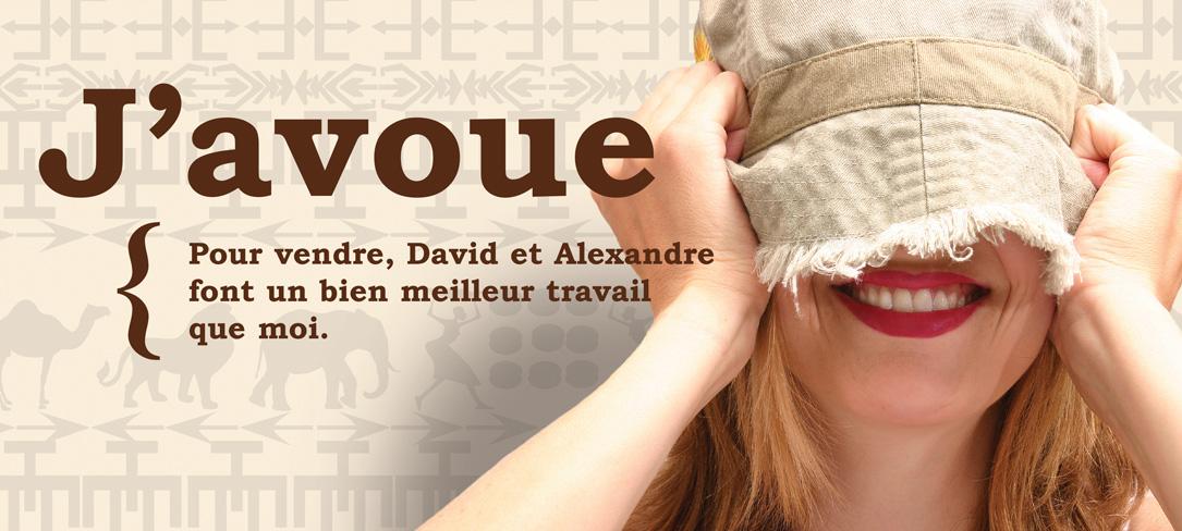 Série J'avoue - Femme chapeau